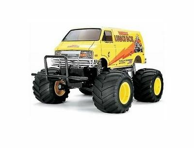Tamiya RC Model Kit - Lunch Box Monster Van ESC INCLUDED - 1:10 Scale - 58347