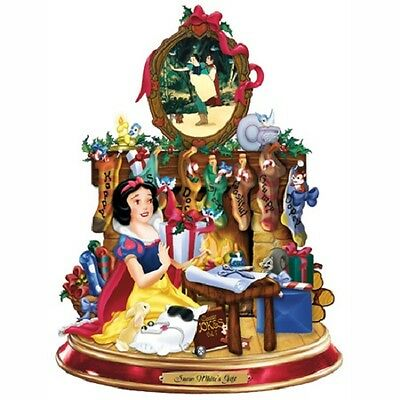 Snow Whites Gift Christmas Disney  Figurine - Bradford Exchange