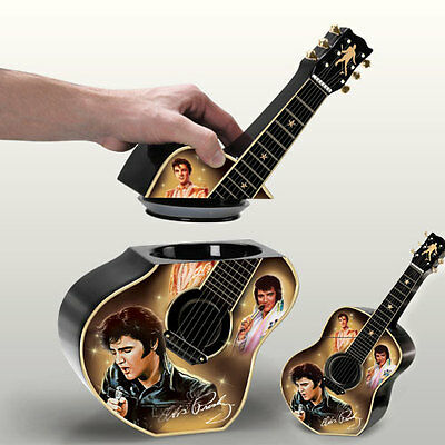 Elvis Taste of Rock N Roll Cookie Jar Bradford Exchange