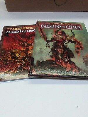 Warhammer Daemons of Chaos 2 army books