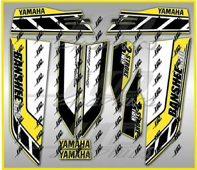 yamaha banshee full graphics kit special edition yellow