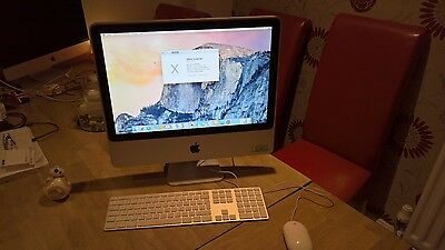 "Apple iMac7,1 20"" Mid 2007 2.4 GHz Intel 4GB/350GB Bluetooth & Wifi + SuperDrive"
