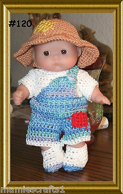 """5"""" BERENGUER  DOLL OUTFITS- Made To Order"""