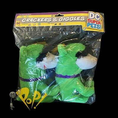 DC Super Pets CRACKERS & GIGGLES Plush Figure SET DC Collectibles Art Baltazar!