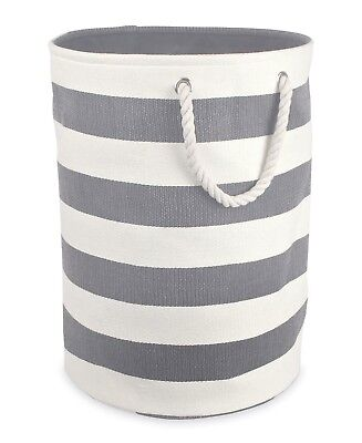 DII Woven Paper Textured Laundry Hamper or Basket Collapsible - Very Convenient