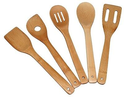 Totally Bamboo 5-Piece Utensil Set - NEW