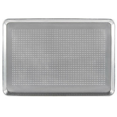 "12-Pack  Perforated Full Size Aluminum Sheet Pan 18"" x 26"" 407FULLPERF"
