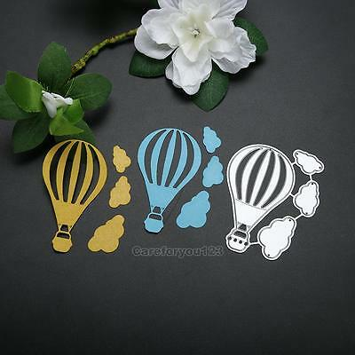 Fire Balloon Metal Cutting Dies Stencil DIY Scrapbooking Album Paper Card Craft