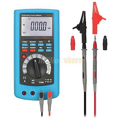 AIMO AMPX1 2in1 LCD Digital High Accuracy Process Calibrator DMM with Multimeter