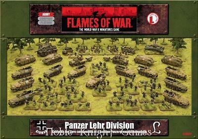 Battlefront FoW WWII German 15mm Panzer Lehr Division - Army Set Box Fair
