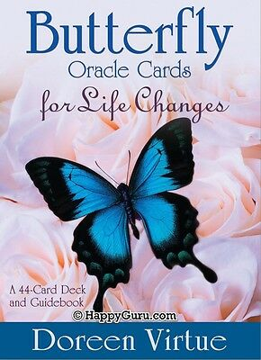 """""""butterfly Oracle For Life Changes"""" Doreen Virtue (Oracle Cards)"""