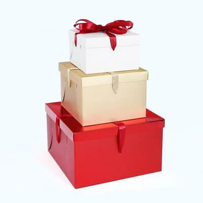 5pcs High Quality Cake Boxes with Ribbon Wedding Birthday Bakery Accessories