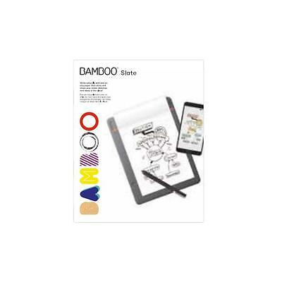 3426383 Wacom Bamboo Folio /slate Notepads A Notepads A5/half Letter Size, Up To