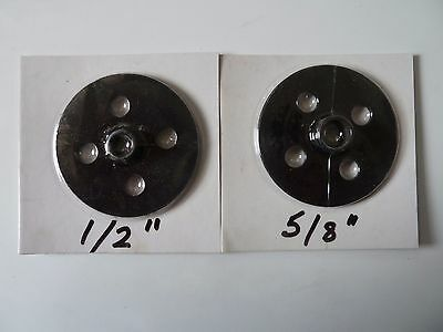 """Router Template Guide Bush 1/2"""" (12.7mm) and 5/8"""" (16mm) Combo"""
