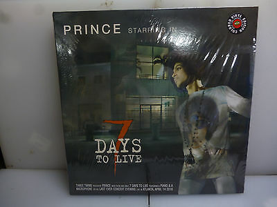 Prince-7 Days To Live. Atlanta, Usa 2016.-Gatefold 2Lp Red Vinyl-New.sealed