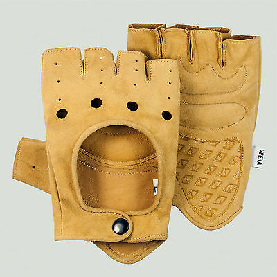 Veeka Gino 1948 vintage leather style cycling gloves