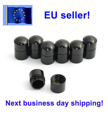 5 pcs Magnetic nano cache container, Geocaching, Black, pack, lot, Geocache