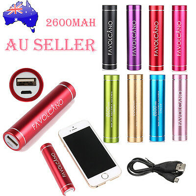 Best 2600mAh Power Bank Portable Charger USB External Battery For Mobile Phones