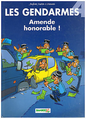 BD Les gendarmes tome 4 amende honorable !