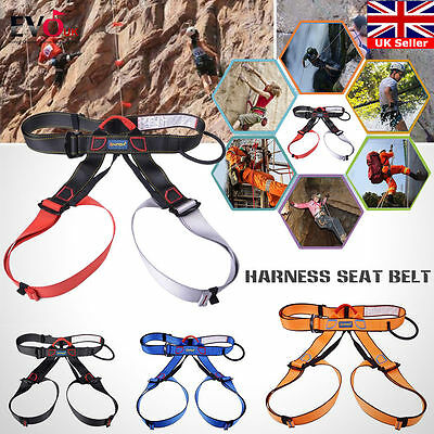 Harness Seat Belt safely for Rock Climbing Rappelling Equipment Harness with bag