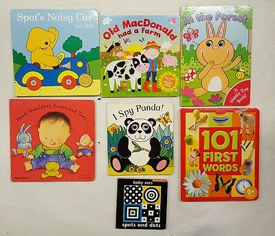 baby books 7 book bundle spot sound book(6)