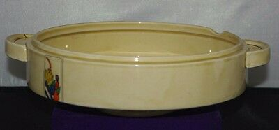 Clarice Cliff Tureen Serving Bowl, Wilkinson Moderne Jewel Design Art Deco 1930