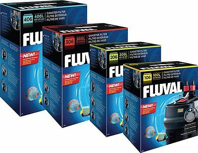 Brand New Fluval 106 206 306 406 Fx4 Fx6 External Aquarium Fish Tank Filter