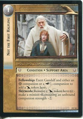 Lord Of The Rings CCG Card SoG 8.U18 Not The First Halfling