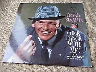 Frank Sinatra Come Dance With Me STEREO 1st Issue UK LP [FIRST 2,000 PRESS]!