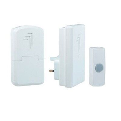 Wireless Door Chime Bell - Byron Portable Door Chime - 2 Pack