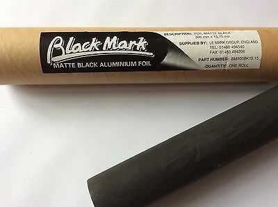 Matt Black Light Masking Foil, BlackMark®