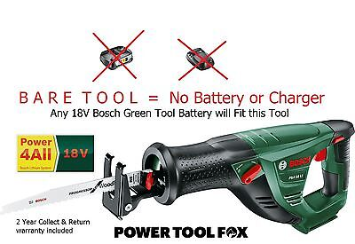 new Bosch PSA 18 Li Cordless SABRE SAW (-BARE TOOL-) 06033B2301 3165140739924 *'