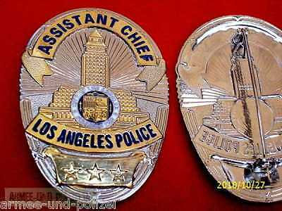 Historisches Assistant Chief Los Angeles Police Badge LAPD
