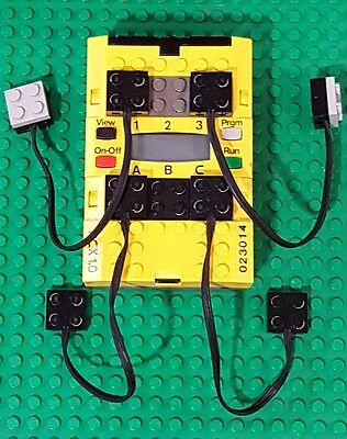 Lego Mindstorms Yellow Brick RCX 2.0 Tested 884c 9785 9786 3804 9793 with EXTRAS