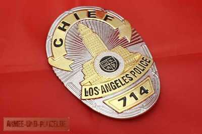 Historisches Chief Los Angeles Police Badge LAPD