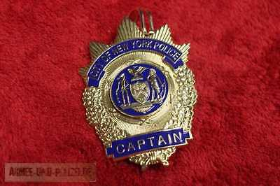 Historisches Captain City of New York Police Badge