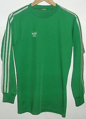 Adidas Vintage Authentic Football Shirt Made In West Germany Medium