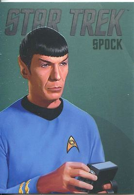 Star Trek Portfolio Prints Bridge Crew Portraits Chase Card RA2 Spock