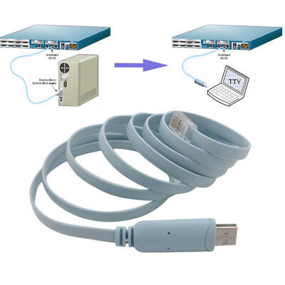USB TO RJ45 Serial Console Cable Express Net Routers Cable For Cisco Router ZZ