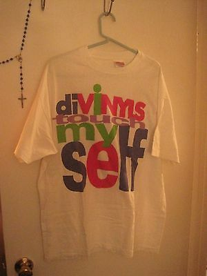 diVINYLS official TOUR t-shirt I TOUCH MYSELF rare CHRISSY AMPHLETT 1991