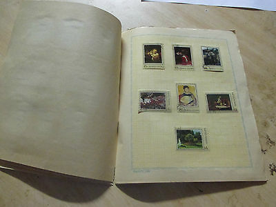 No--5--RUSSIAN  COLLECTION  OF  PAINTINGS  --54  STAMPS  & 2  MINI  SHEETS --A1