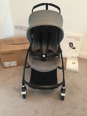 Bugaboo Bee 3 Grey Melange Mint Condition Boxed