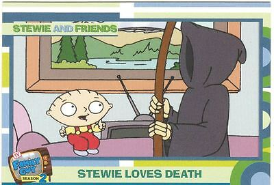 Family Guy Season 2 Complete Stewie And Friends Chase Card Set BL1-3