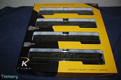 K-Line K-4880B Pennsylvania Brunswick Heavyweight 4-Pack Set MIB **