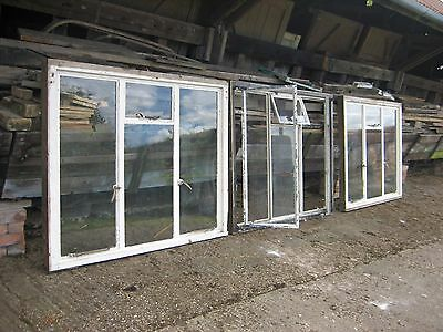 Three Matching Original Crittall Windows