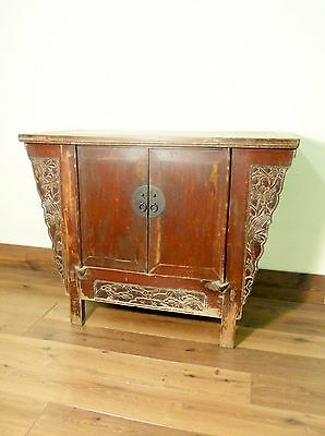 "Antique Chinese ""Butterfly"" Coffer (5668), Circa 1800-1849"
