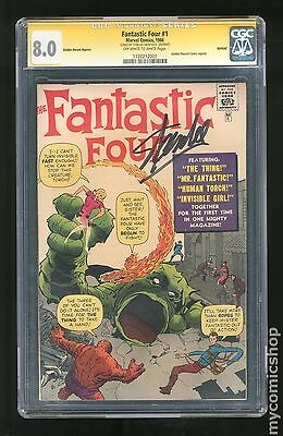 Fantastic Four (1961 1st Series) Golden Record Reprint #1C CGC 8.0 SS 1120212001