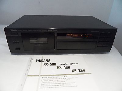 Yamaha KX-580 Special Edition Cassette Deck - high end - GF Head/Dolby S VGC 356