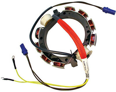 JOHNSON/EVINRUDE 9 AMP STATOR, CDI-1978-1987 4 & 6 Cylinder with Dual Power Pack