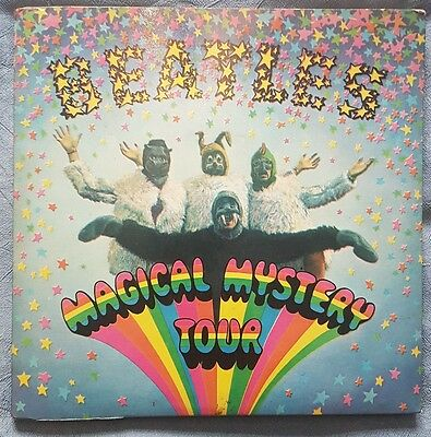 "Magical Mystery Tour EP - 1st - EX Beatles 7"" vinyl single record UK MMT1"
